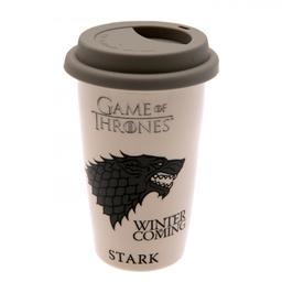 Gra o tron - kubek podróżny Stark