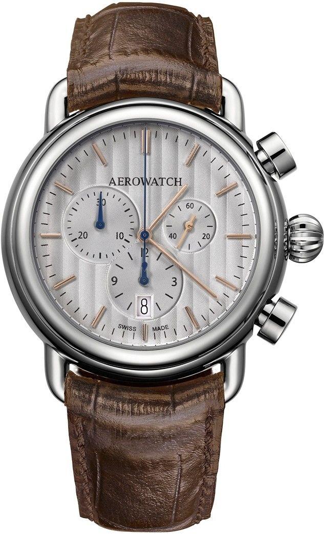 Aerowatch 83939-AA08 > Wysyłka tego samego dnia Grawer 0zł Darmowa dostawa Kurierem/Inpost Darmowy zwrot przez 100 DNI