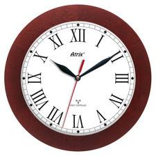 Zegar drewniany sterowany radiowo K4