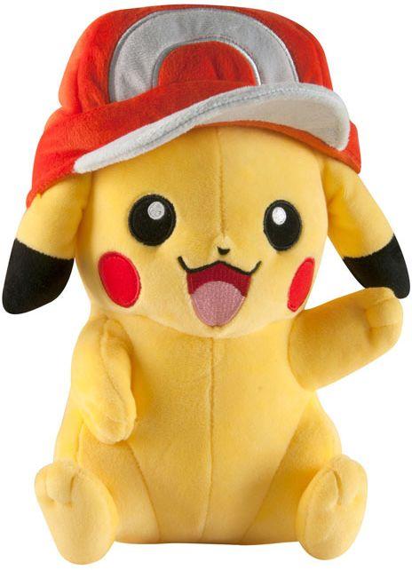 Pokemon Ash Hat Pikachu - Pluszak
