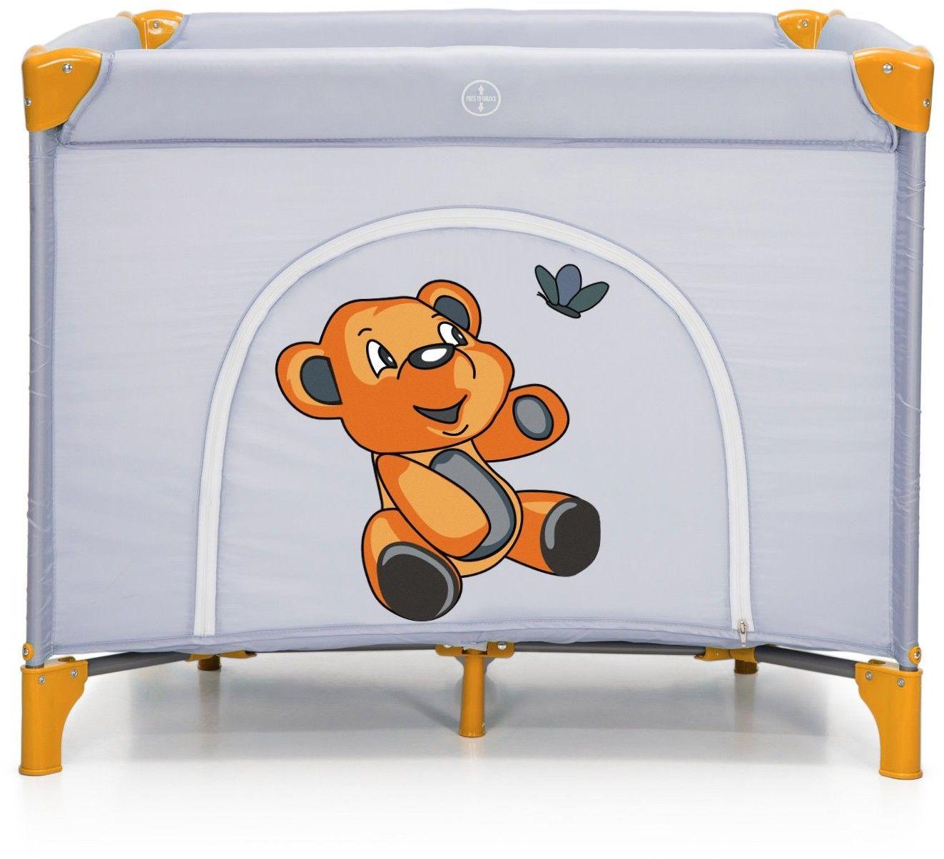 Łóżeczko turystyczne Kojec Moolino Cubo Pomarańczowe P700Y