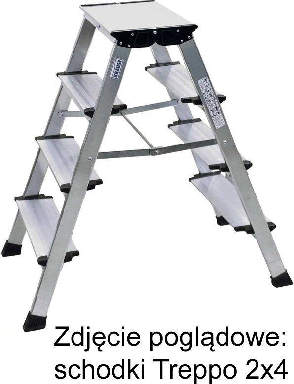 KRAUSE Treppo drabina schodki dwustronne składane 2x3