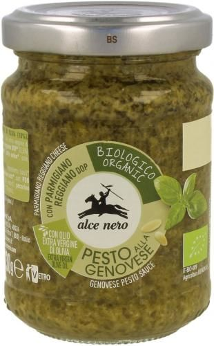 Pesto genovese - sos bazyliowy BIO 130g Alce Nero