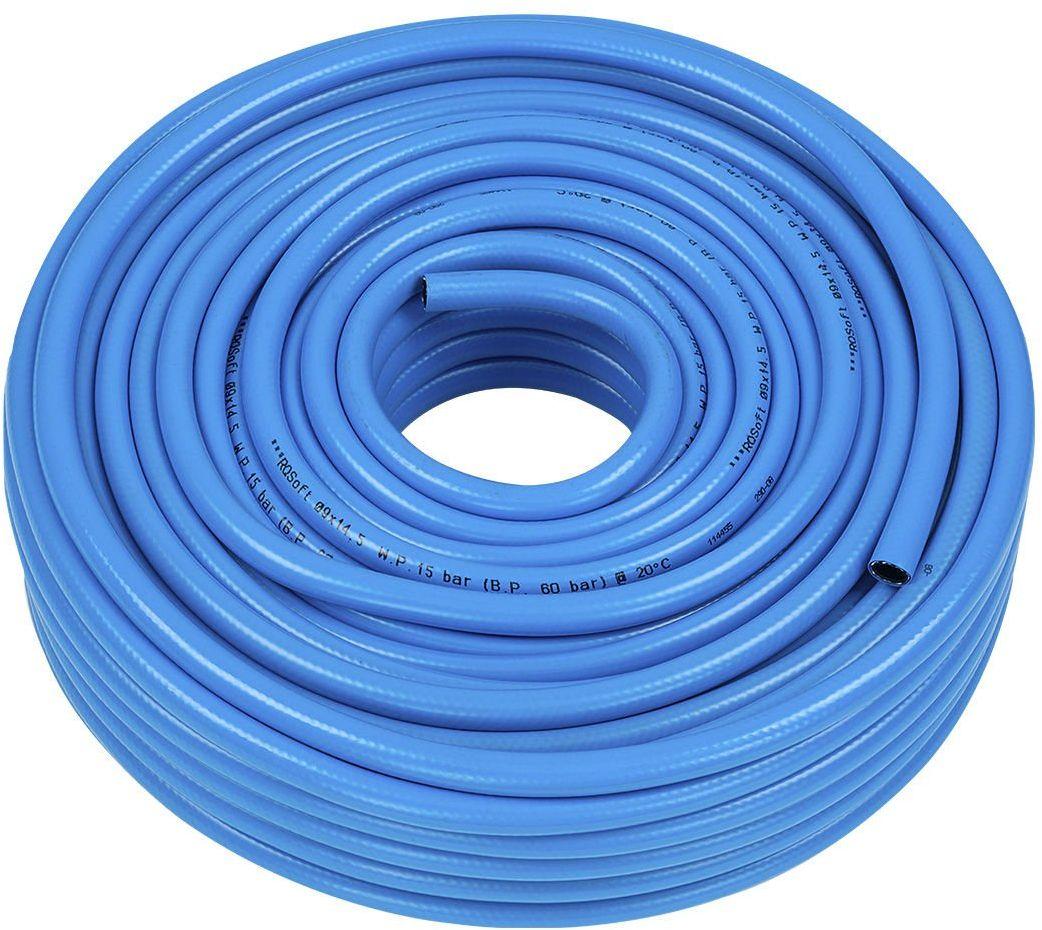 Wąż Prosty RQSoft Poliuretanowy Pneumatyczny 9,0 x 14,5mm - 50m