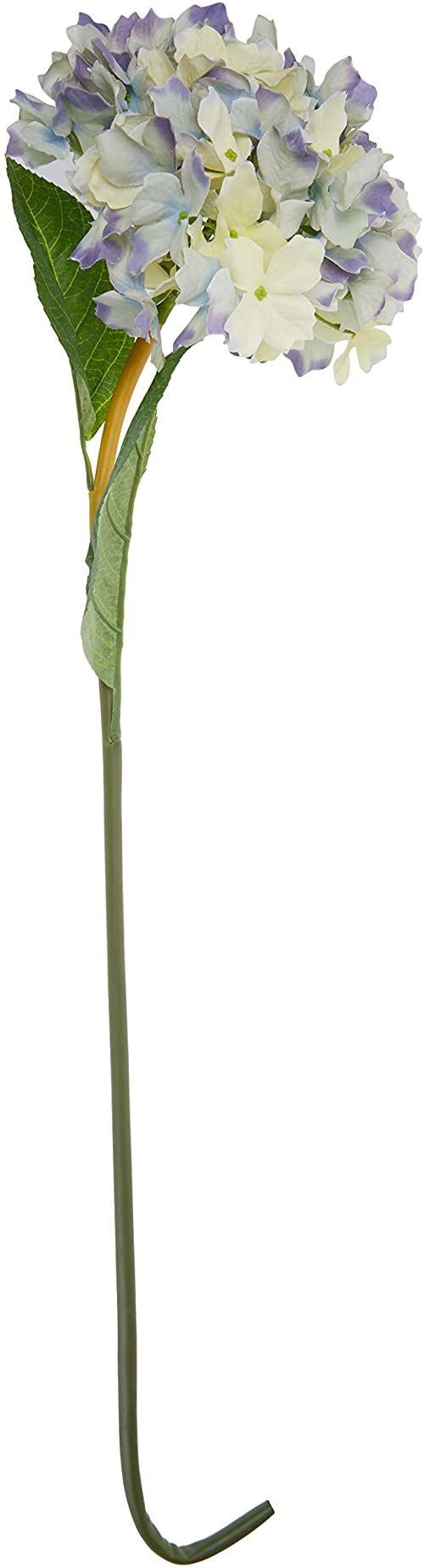 Better & Best Sztuczny kwiat hortensji 83x30x30 cm niebieski