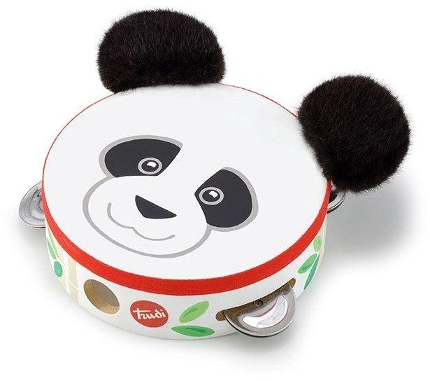 Zabawka muzyczna Tamburyn Miś Panda 88002-Trudi by Sevi, instrumenty dla dzieci