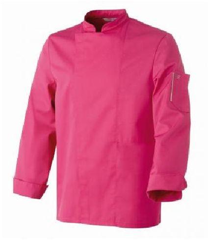 Bluza kucharska Nero fuksja długi rękaw XL