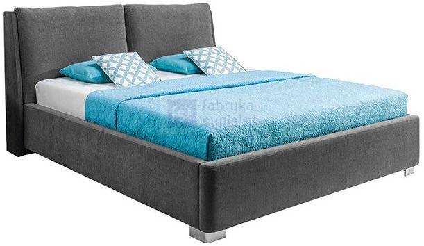 Łóżko MONACO tapicerowane z pojemnikiem
