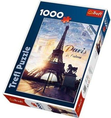 Puzzle TREFL 1000 - Paryż o świcie, Paris at daw