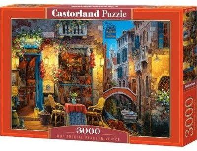 Puzzle Castor 3000 - Najlepsze miejsce w Wenecji, Our Special Place in Venice