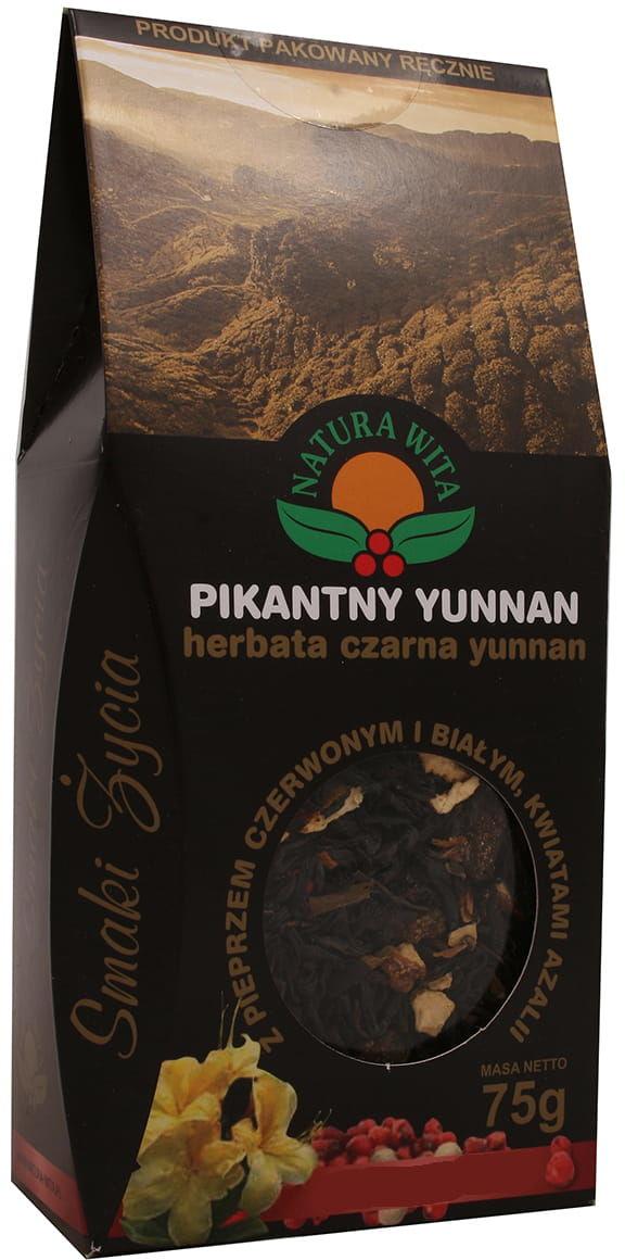 Herbatka Pikantny Yunnan czarna 75g Natura Wita