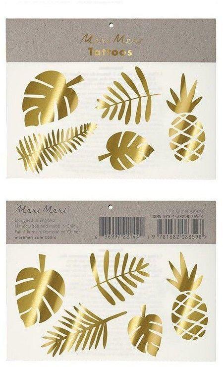 Tatuaże Tropiki Złote