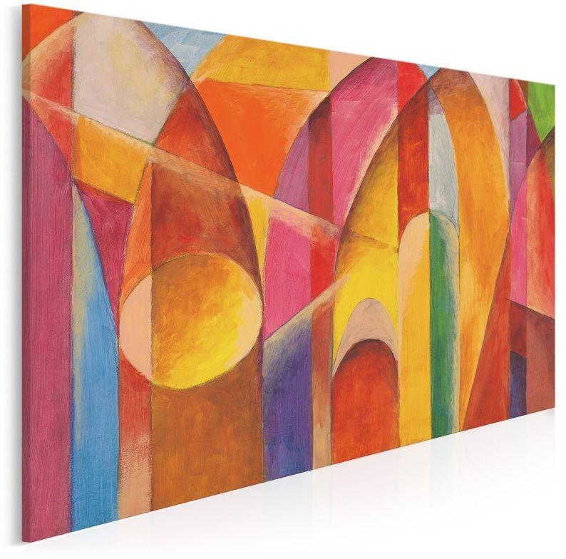 Katedra - nowoczesny obraz na płótnie - 120x80 cm