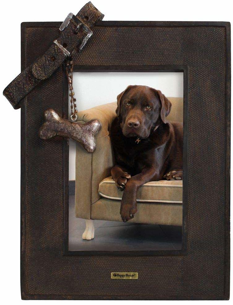 Happy-House ramka na zdjęcia z obrożą dla psa