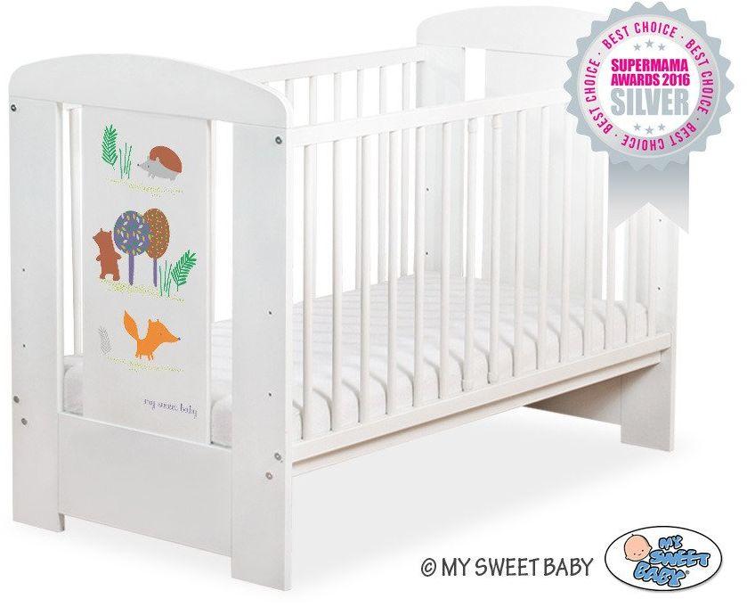 Łóżeczko drewniane Przyjaciele z lasu, 501907664-My Sweet Baby
