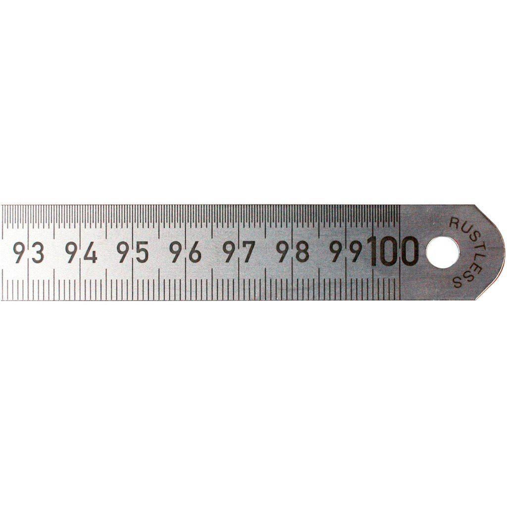 Przymiar stalowy - liniał 300 mm podział co 1/2 mm
