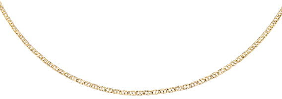 Łańcuszek srebrny 925 Gucci, pozłacany