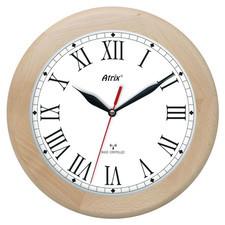 Zegar drewniany sterowany radiowo P4