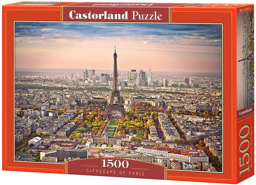 Puzzle Castorland 1500 - Miasto Paryż, Cityscape of Paris