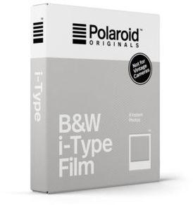 Wkłady do aparatu POLAROID B&W i-Type Film (8 zdjęć)