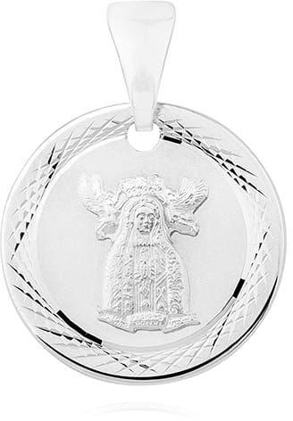 Srebrny medalik Matka Boża Nieustającej Pomocy