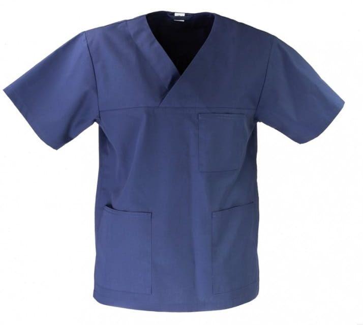 Bluza medyczna uniwersalna granatowa