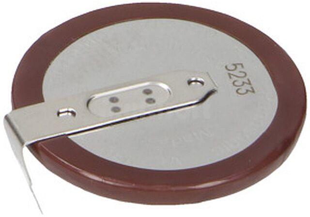 Akumulator PANASONIC VL-2330/HFN 3V 50mAh 2pin fi23x3,65mm -20 60 C