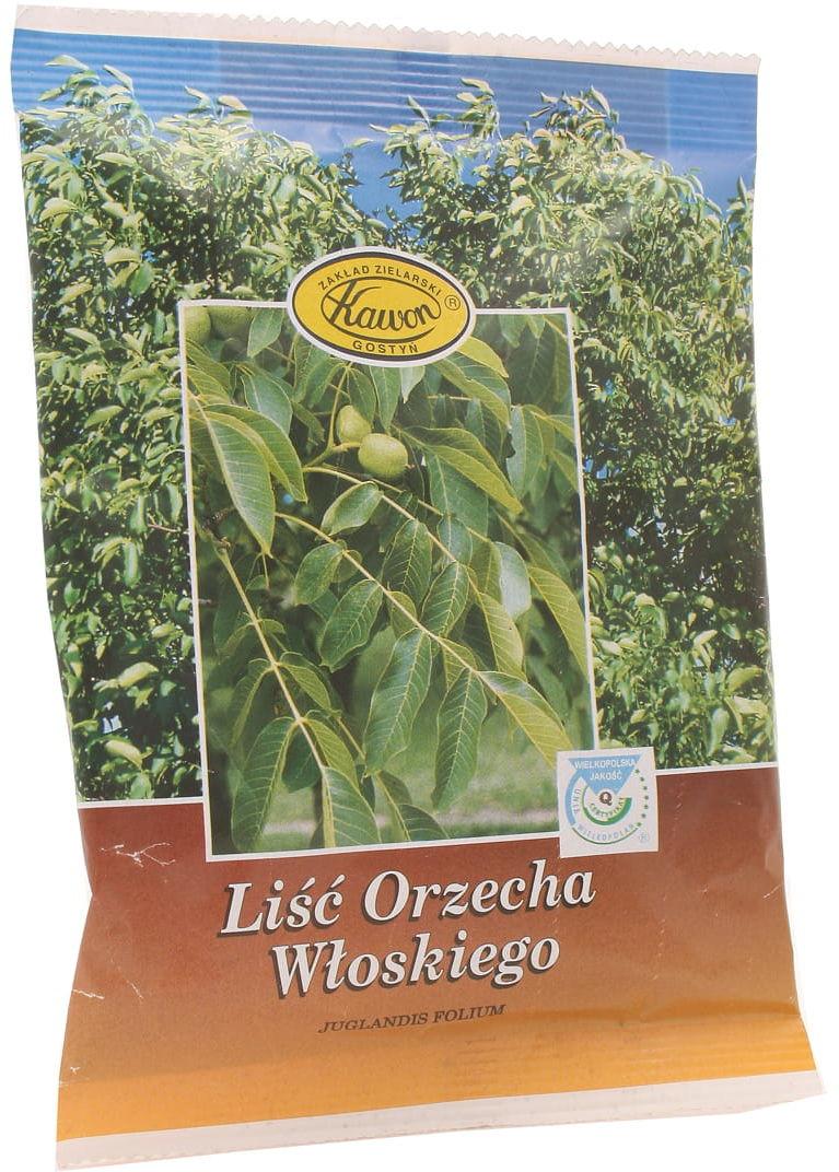 Liść orzecha włoskiego - Kawon - 50 g