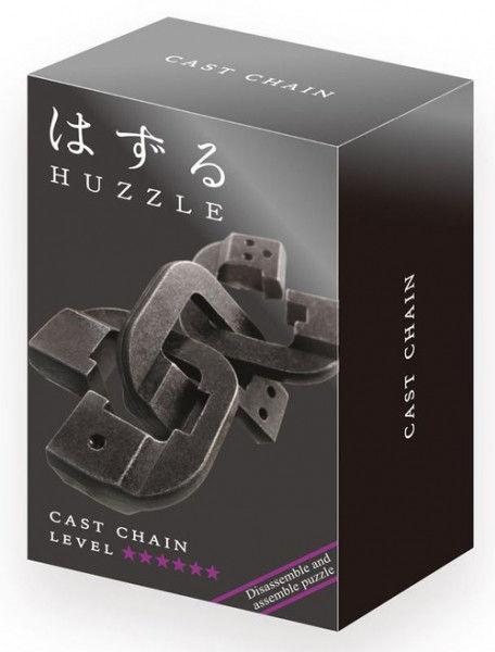 Huzzle Cast Chain poziom 6/6 ZAKŁADKA DO KSIĄŻEK GRATIS DO KAŻDEGO ZAMÓWIENIA