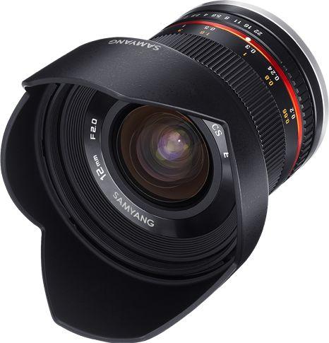 Samyang 12mm F2.0 NCS CS - obiektyw stałoogniskowy do Sony E Samyang 12mm F2.0 NCS CS