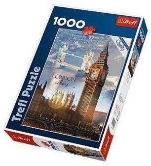 Puzzle TREFL 1000 - Londyn o świcie, London at dawn