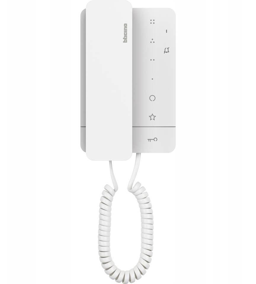 UNIFON Domofon słuchawkowy CLASSE 100A16M Bticino 344292 Certyfikowany Sklep i Wsparcie Techniczne