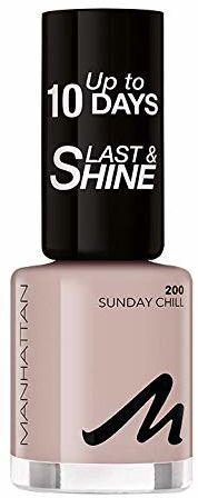 Manhattan Last und Shine lakier do paznokci, nr 200 Sunday Chill, 1 opakowanie (1 X 10 ml)