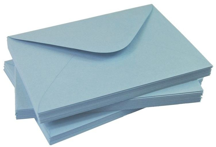 Koperty Niebieski pastel 3 120 g/m2 C6 10 szt nr43 372429