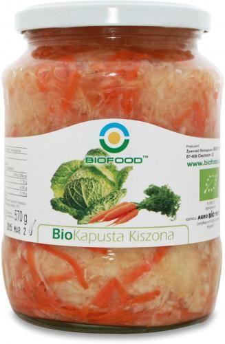 Kapusta kiszona BIO 700g (550g) Bio Food