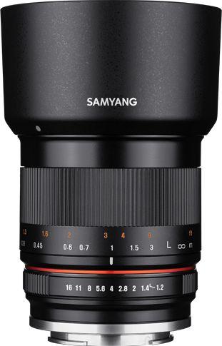 Samyang 35mm F1.2 ED AS UMC CS - obiektyw stałoogniskowy do Sony E Samyang 35mm F1.2 ED AS UMC CS