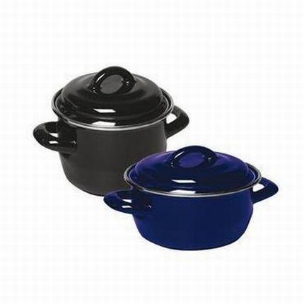 Garnek do zup i sosów - poj. 0.4 l (z pokrywką)