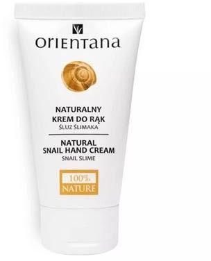 Naturalny krem do rąk ze śluzem ślimaka 50ml Orientana