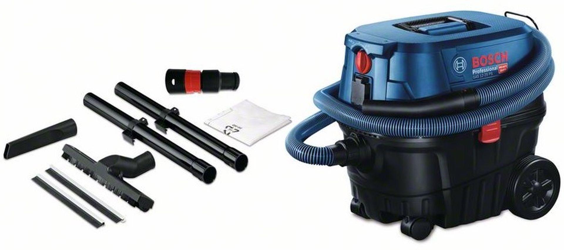 Odkurzacz do pracy na sucho i mokro Bosch GAS 12-25 PL Professional