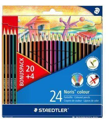 Kredki STAEDTLER Noris Colour 24 kolory. > Letnia wyprzedaż! RABATY nawet do 40%! DARMOWA DOSTAWA ODBIÓR W 29 MIN DOGODNE RATY!
