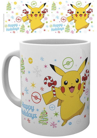 Kubek - Pokemon - Pikachu Xmas
