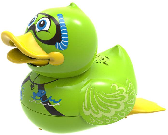 Silverlit Aqua Ducks - Śpirewająca i pływająca kaczuszka Zielona 88447