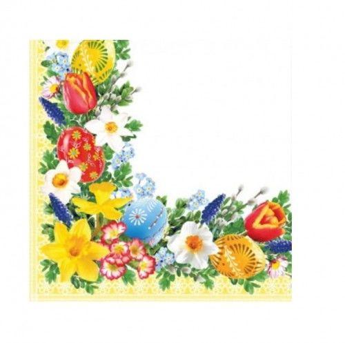 Serwetki papierowe na Wielkanoc