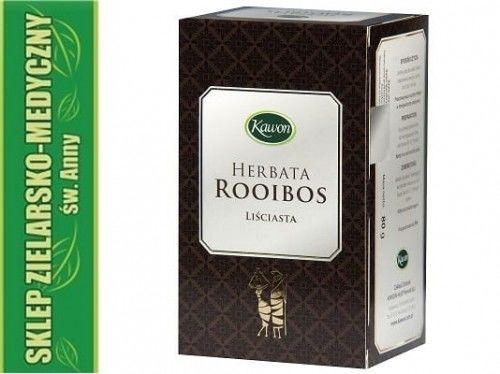 Herbata ROOIBOS Liściasta 80g Smak Afryki