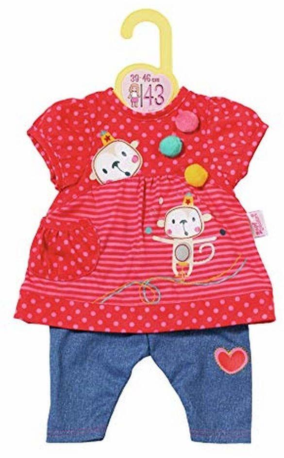 Zapf Creation 870365 Dolly Moda zawieszka ze spodniami, odzież dla lalek 39-46 cm