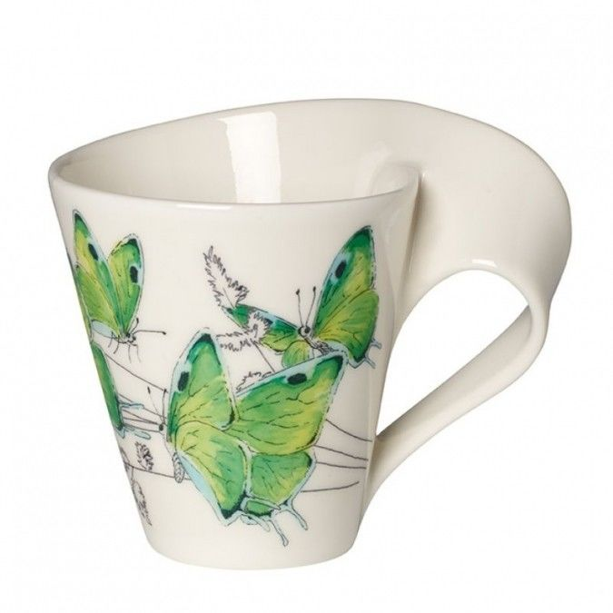 Villeroy&Boch - Kubek NewWave Caffe Deep Green Hairstreak