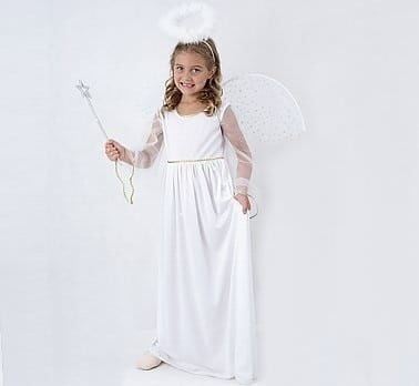 Przebranie dla dziewczynki Aniołek niebiański