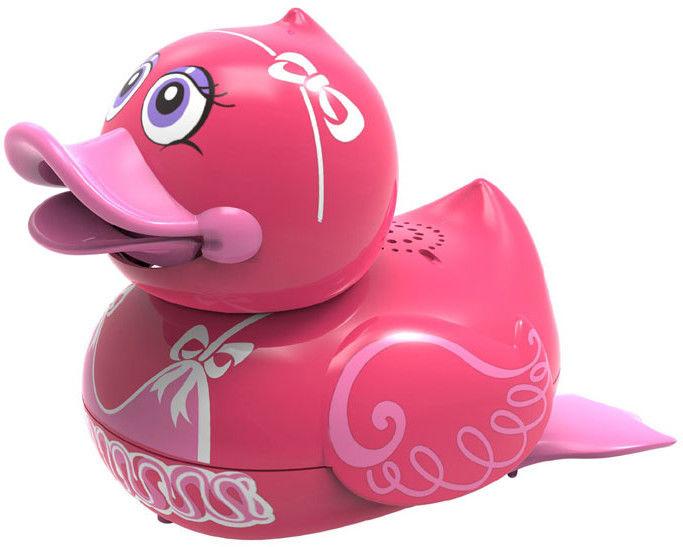 Silverlit Aqua Ducks - Śpirewająca i pływająca kaczuszka Różowa 88447