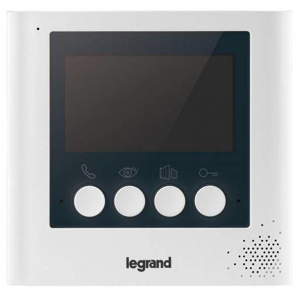"""Dodatkowy ekran 4,3"""" do rozbudowy wideodomofonu 369115 LEGRAND Certyfikowany Sklep i Wsparcie Techniczne"""