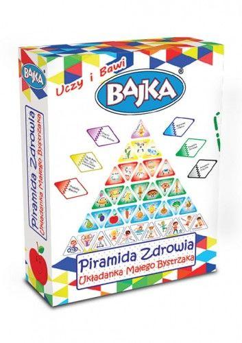 Piramida Zdrowia - Układanka Małego Bystrzaka